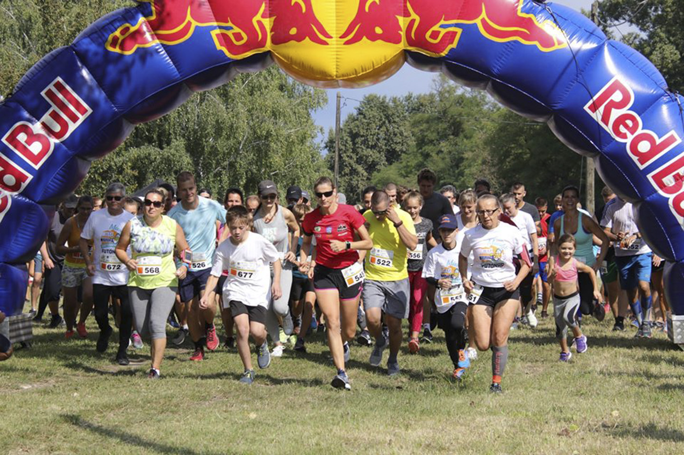 A második futónap